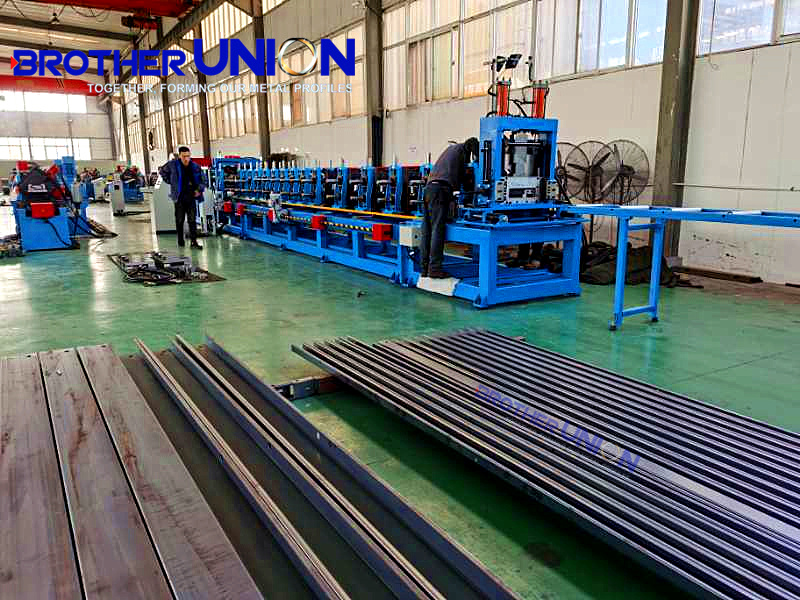 roll forming machines production