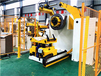 Uncoiler & Coil Cart produced for automotive industry