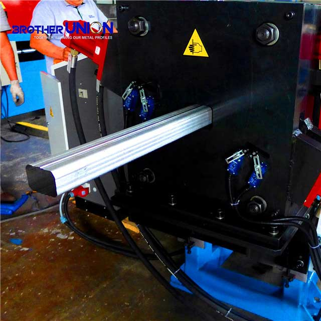 Square Downspout Pipe Roll Forming Machine