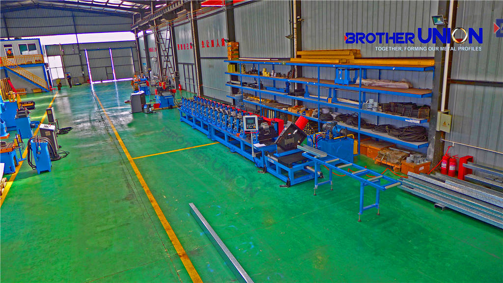 Roll Forming Machine for Steel Framing Building Uprights